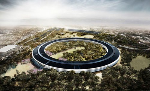 Apple Spaceship Campus | Evans Graphics