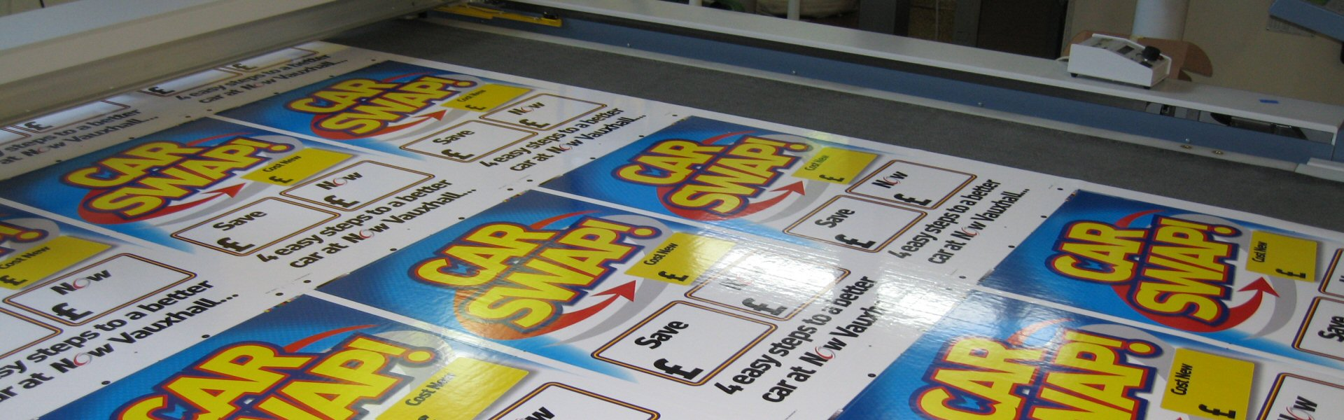 Bespoke Digital Printing - Evans Graphics