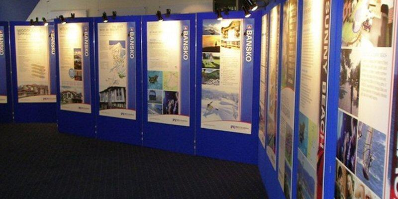 Exhibition Display Boards : Display boards digitally printed evans graphics
