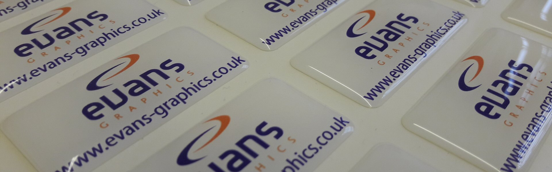 Resin Doming Banners | Evans Graphics
