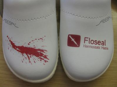 Floseal | Evans Graphics