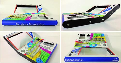 Digitally Printed Graphic Overlays - Evans Graphics