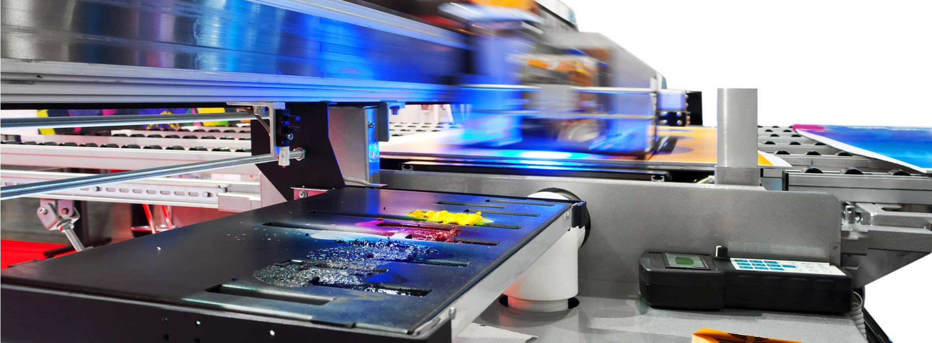 Large Format Flatbed Digital Printing Technology | Evans Graphics