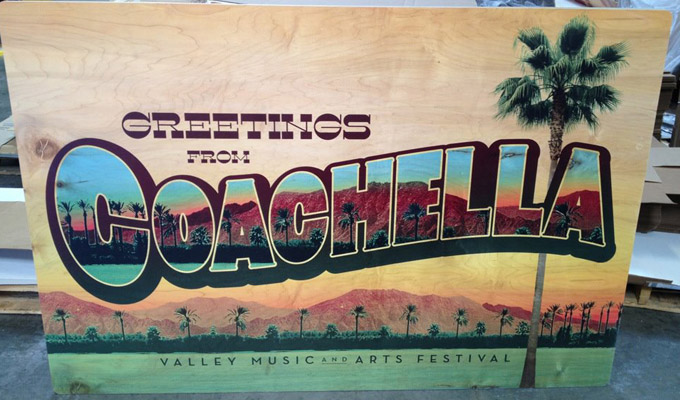 coachella wood board